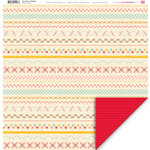 My Little Shoebox - Sew Cute Collection - 12 x 12 Double Sided Paper - In Stitches