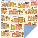 My Little Shoebox - City by the Bay Collection - 12 x 12 Double Sided Paper - Union Square