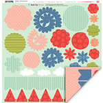 My Little Shoebox - Playtime Collection - 3 Dimensional Roll Up Flower