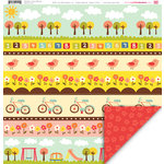 My Little Shoebox - Playtime Collection - 12 x 12 Double Sided Paper - Sunny Side Up