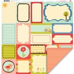 My Little Shoebox - Playtime Collection - 12 x 12 Double Sided Paper - Day Dream