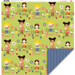 My Little Shoebox - Pretty Little Things Collection - 12 x 12 Double Sided Paper - Little Miss Sunshine