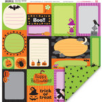My Little Shoebox - Trick or Treat Collection - Halloween - 12 x 12 Double Sided Paper - Fright Night