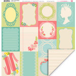 My Little Shoebox - Audrey Collection - 12 x 12 Double Sided Paper - Roman Holiday