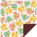 My Little Shoebox - Enchanted Garden Collection - 12 x 12 Double Sided Paper - Radiant