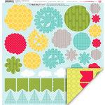 My Little Shoebox - Destination Collection - 3 Dimensional Roll Up Flower