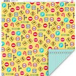 My Little Shoebox - Destination Collection - 12 x 12 Double Sided Paper - Journey