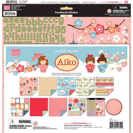 My Little Shoebox - Aiko Collection - 12 x 12 Collection Kit