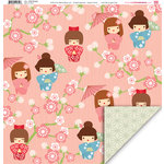 My Little Shoebox - Aiko Collection - 12 x 12 Double Sided Paper - Little Princess