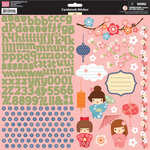 My Little Shoebox - Aiko Collection - Cardstock Stickers