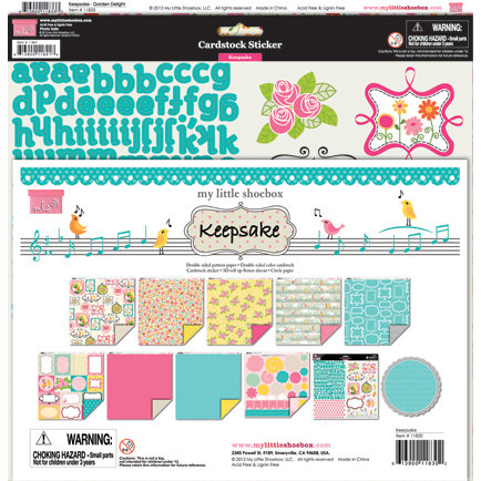 My Little Shoebox - Keepsake Collection - 12 x 12 Collection Kit
