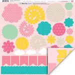 My Little Shoebox - Keepsake Collection - 3 Dimensional Roll Up Flower