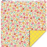 My Little Shoebox - Keepsake Collection - 12 x 12 Double Sided Paper - Garden Delight
