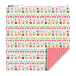 My Little Shoebox - Happy Go Lucky Collection - 12 x 12 Double Sided Paper - All-A-Bloom