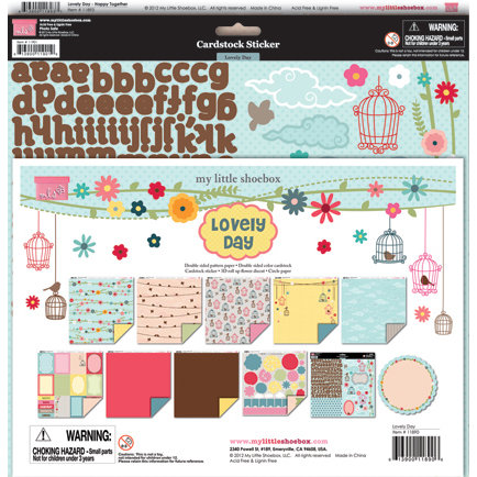 My Little Shoebox - Lovely Day Collection - 12 x 12 Collection Kit
