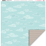 My Little Shoebox - Lovely Day Collection - 12 x 12 Double Sided Paper - Easy Breezy