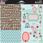 My Little Shoebox - Lovely Day Collection - Cardstock Stickers