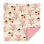 My Little Shoebox - Cherry Delight Collection - 12 x 12 Double Sided Paper - Charming