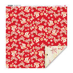 My Little Shoebox - Cherry Delight Collection - 12 x 12 Double Sided Paper - Serenade