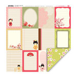 My Little Shoebox - Cherry Delight Collection - 12 x 12 Double Sided Paper - Happy Times