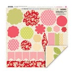 My Little Shoebox - Cherry Delight Collection - 3 Dimensional Roll Up Flower