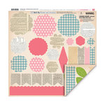 My Little Shoebox - Vintage Shop Collection - 3 Dimensional Roll Up Flower