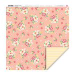 My Little Shoebox - Secret Garden Collection - 12 x 12 Double Sided Paper - Sweetie