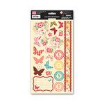 My Little Shoebox - Secret Garden Collection - Cardstock Stickers - Secret Garden