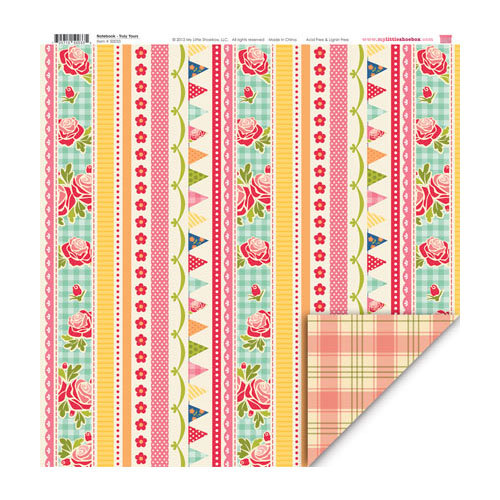 My Little Shoebox - Notebook Collection - 12 x 12 Double Sided Paper - Truly Yours