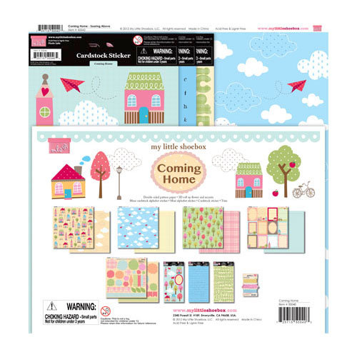 My Little Shoebox - Coming Home Collection - 12 x 12 Collection Kit