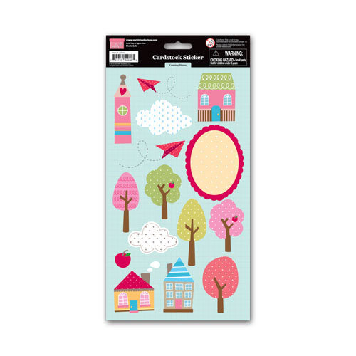 My Little Shoebox - Coming Home Collection - Cardstock Stickers - Coming Home