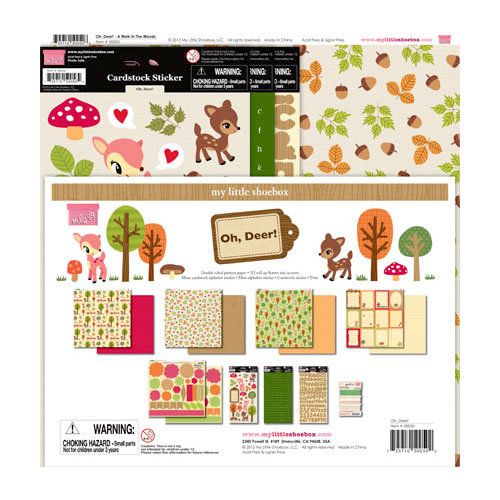 My Little Shoebox - Oh, Deer! Collection - 12 x 12 Collection Kit