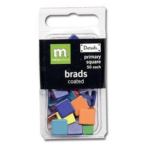 Making Memories Brads - Square - Primary