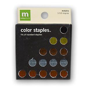 Making Memories - Color Staples - Metallic, BRAND NEW