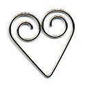 Making Memories Shaped Clips - Heart, CLEARANCE