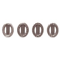 Making Memories Details Ribbon Charms - Mini Oval 1