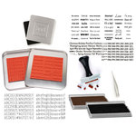 Making Memories - 2-for-1 Magnetic Alphabets and Date Stamp Kit