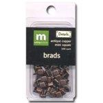 Making Memories Mini Brads -  Square - Antique Copper