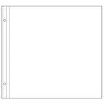 Making Memories Sheet Protectors - 12 x 12