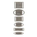 Making Memories Ribbon Labels - Girl