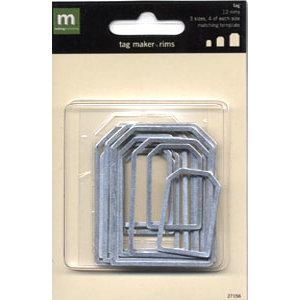 Making Memories - Tag Maker Rim Package - Tag Rims