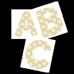 Making Memories - Alphabet Letter Stickers - Pets - Paw Print, CLEARANCE