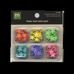 Making Memories - Value Pack - Medium and Mini Brads - Flowers