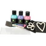 Making Memories - Photo Décor - Paint and Foam Stamp Kit - Polo Club