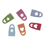 Making Memories - Cheeky Flat Clips - Brites, CLEARANCE