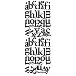 Making Memories - Wall Text Alphabets - Classic Lower Black, CLEARANCE