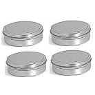 Making Memories - Storage Metal Tins - Round - 4 Tins