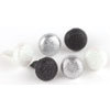 Making Memories - Shimmer Brads - Black and White, CLEARANCE