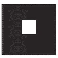 Making Memories - 12x12 Album - Faux Leather Embossed Black - Funky Vintage