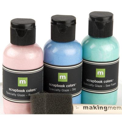 Making Memories - Metallic Paint Kit - 3 Pack - Springtime